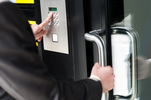 Secure Door Entry System Solutions Including Professional And High
